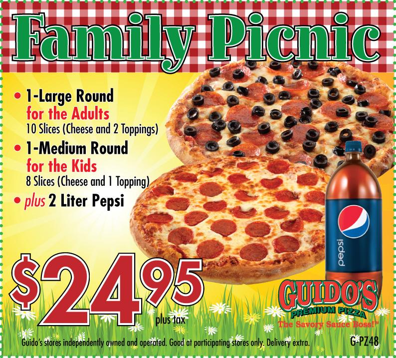 G pz48 family picnic 24.95
