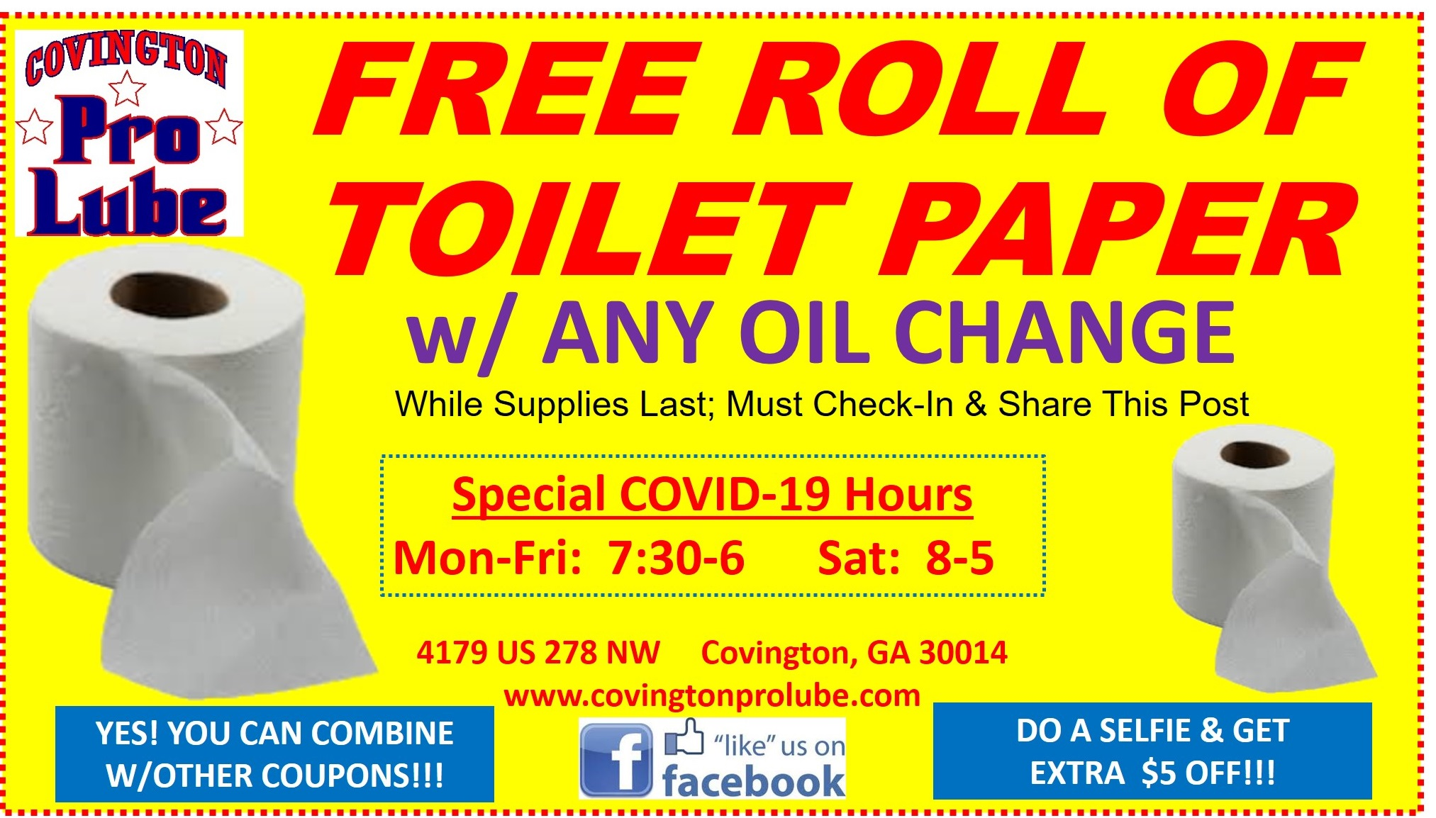 Deal of the day %28cpl%29 %28toilet paper%29