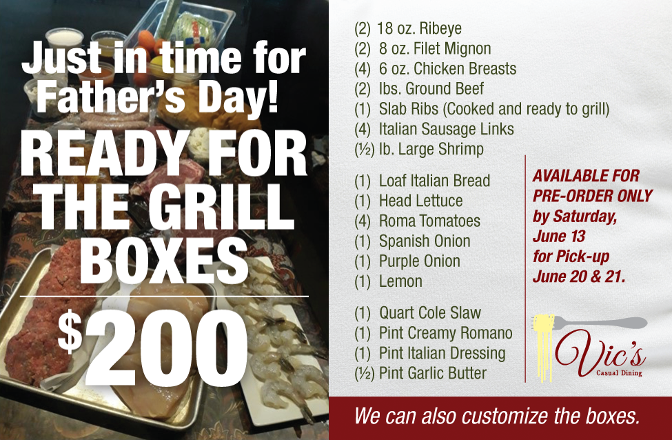 Vic's Fathers Day Box