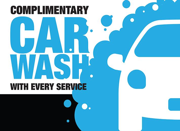 Dahl Complimentary Car Wash