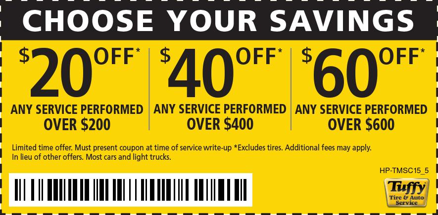 Choose Your Savings $20/$200 $40/$400 $60/$600