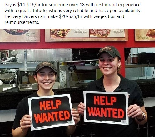 Oxford Help Wanted