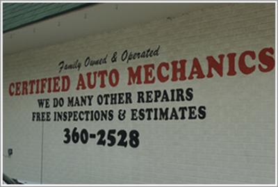 Muffler Man of Union Lake, Michigan Certified Technicians
