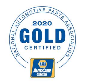 NAPA Gold Certified Repair Shop