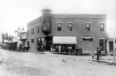 A.H. Dahl and Co. General Store: Westby, WI 1910