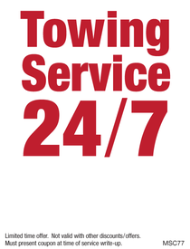 24 hour emergency towing