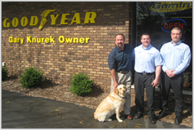 Gary Knurek, an authorized Goodyear Auto Service Center Troy, Michigan