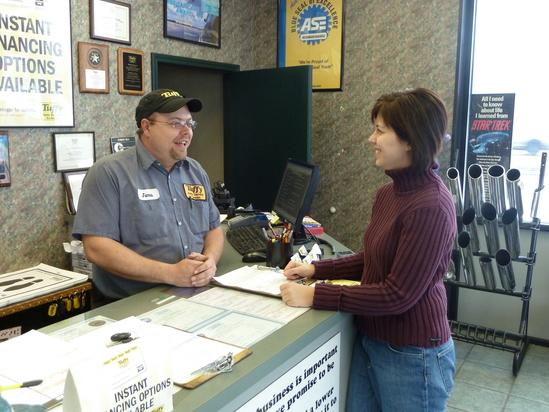 Tuffy Auto Service Center's Certified Technicians Sturgis, Michigan