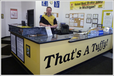 Tuffy Auto Service Center's Certified Technicians Kalamazoo, Michigan