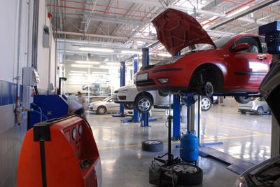 March Tire Auto Service Repair Facility Plymouth, Michigan