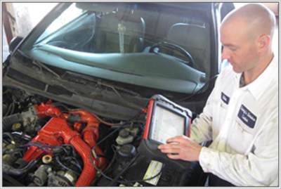 Auto Repair Diagnostics Service at Denny's Auto Service Plymouth, Michigan