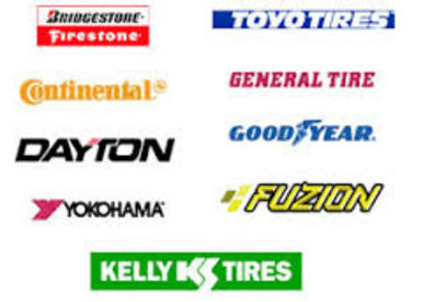 We Sell All Brands of Tires