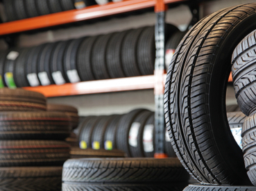 We sell tires at Mike K's in Wyandotte, Michigan