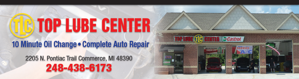 Top Lube 10 Minute Oil Change and Complete Auto Repair