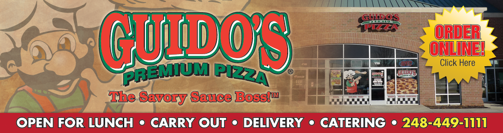 Guido's Premium Pizza, Pasta, Subs, Salads & Bread Novi, MI