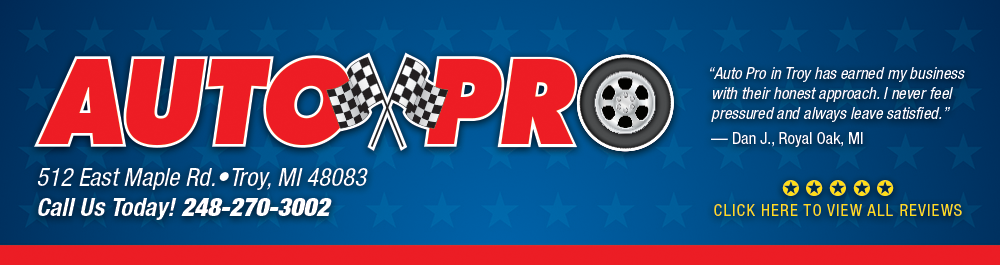 Auto Repair Troy, Michigan Auto Pro Auto Repair