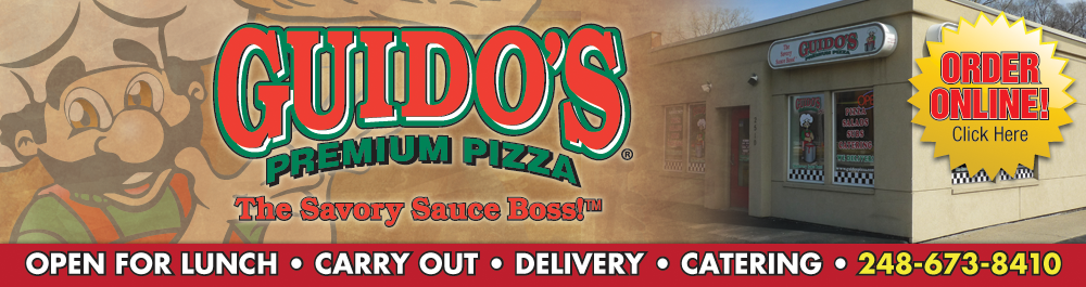 Guido's Premium Pizza, Pasta, Subs, Salads & Bread Waterford, MI