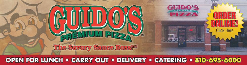 Guido's Premium Pizza, Pasta, Subs, Salads & Bread Grand Blanc, MI