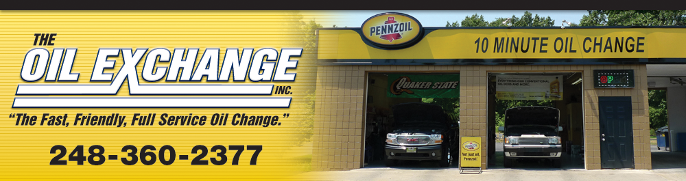 Fast and Friendly Full Service Oil Change Commerce, Michigan