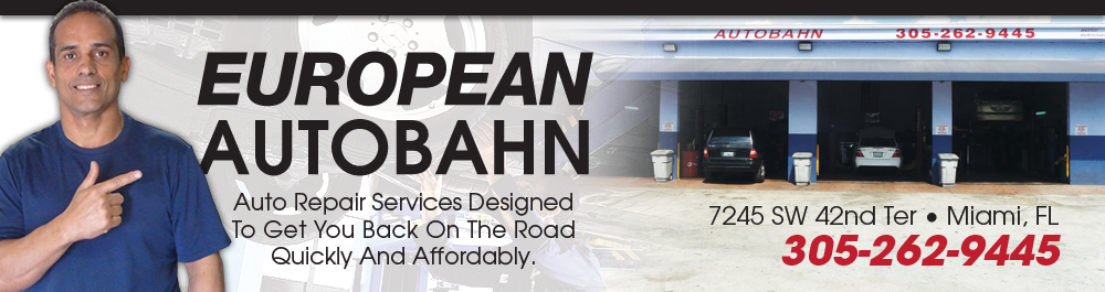 European Autobahn Inc.: Miami, Florida Auto Repair