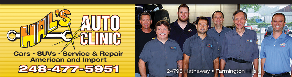 Hal's Auto Clinic: Farmington Hills, Michigan Auto Repair