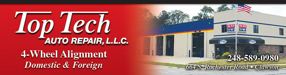 Top Tech Auto Repair Clawson: Clawson, Michigan. Auto Repair