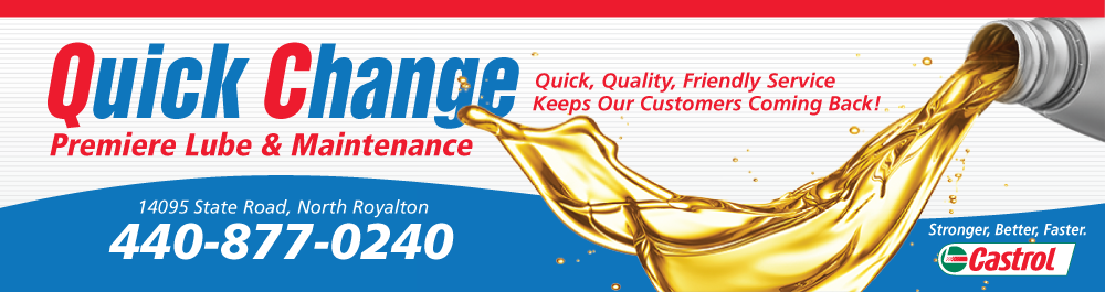 Quick Change North Royalton: North Royalton, Ohio Oil Change