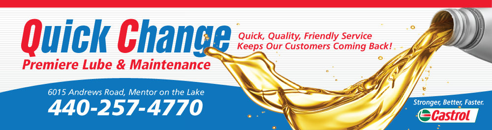 Quick Change Mentor on the Lake: Mentor on the Lake, Ohio Oil Change