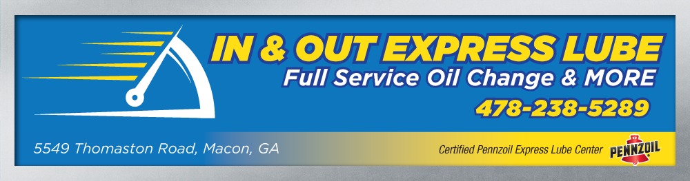 In & Out Express Lube: Macon, Georgia Oil Change