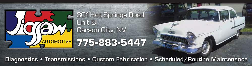Jigsaw Automotive: Carson City, Nevada Auto Repair