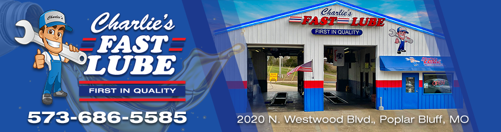 Charlies Fast Lube Poplar Bluff: Poplar Bluff, Missouri Oil Change