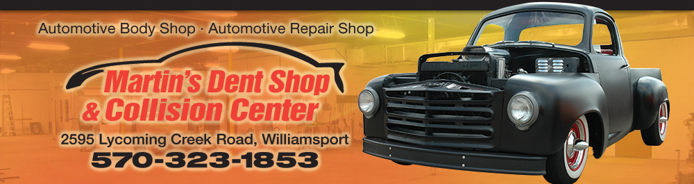 Martin's Dent Shop & Collision: Williamsport, Pennsylvania Collision