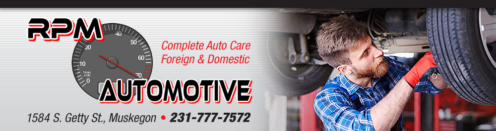 RPM Automotive: Muskegon, Michigan Auto repair