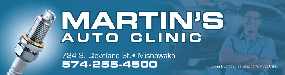 Martin's Auto Clinic: Mishawaka, Indiana Auto repair