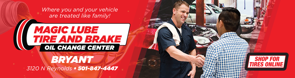 Magic Lube Tire & Brake: Bryant, Arkansas Auto repair