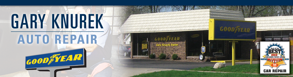 Gary Knurek, an Authorized Goodyear Tire and Auto Repair Troy, Michigan Tire and Auto Repair Shop