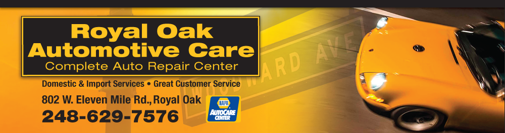 Royal Oak Auto Care Royal Oak, Michigan Auto Repair Shop