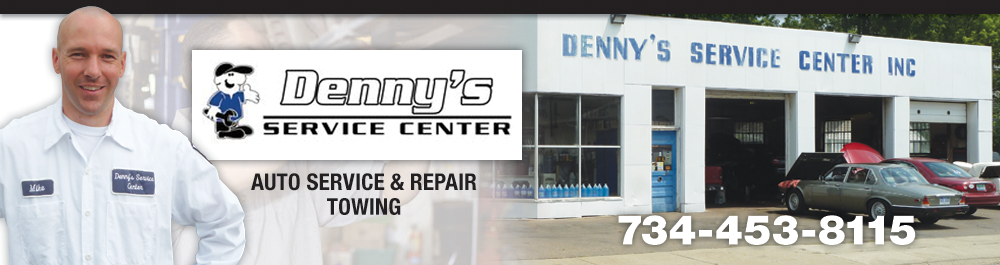 Denny's Service Plymouth, Michigan Auto Repair and Towing Shop