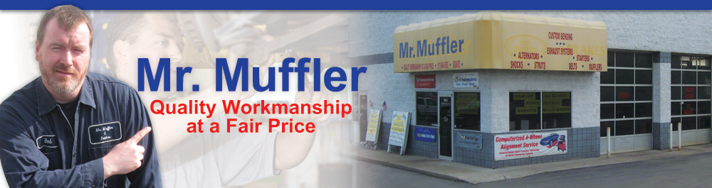 Mr.Muffler Howell, Michigan Muffler and Auto Repair Shop
