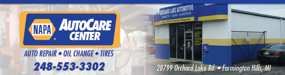 Napa Auto Care Center Farmington Hills, Michigan Auto Repair Shop
