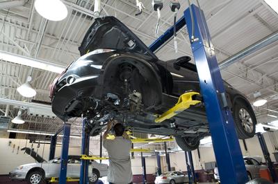 Tuffy Auto Repair Facility Grand Rapids Michigan
