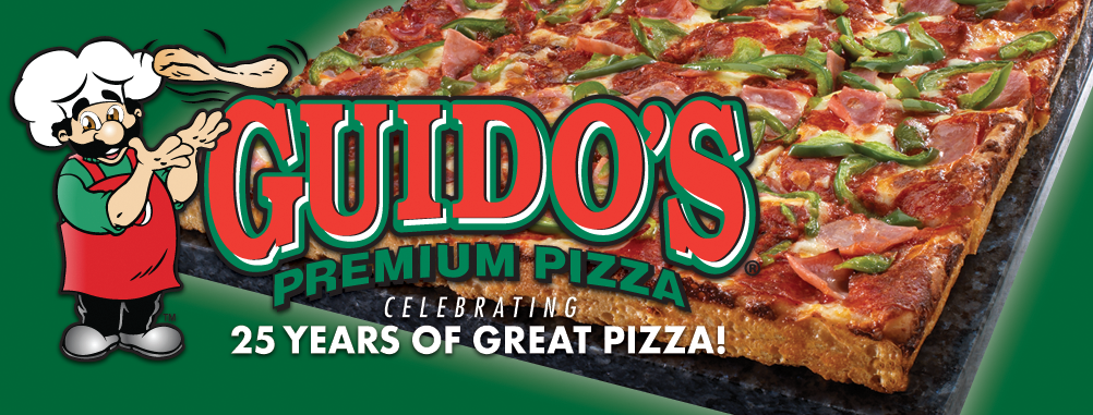 Guido's Premium Pizza Services Metro Detroit and Sault Ste Marie, Michigan
