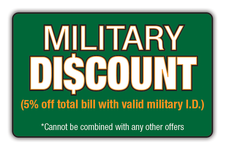 Military Discount 5% Logo