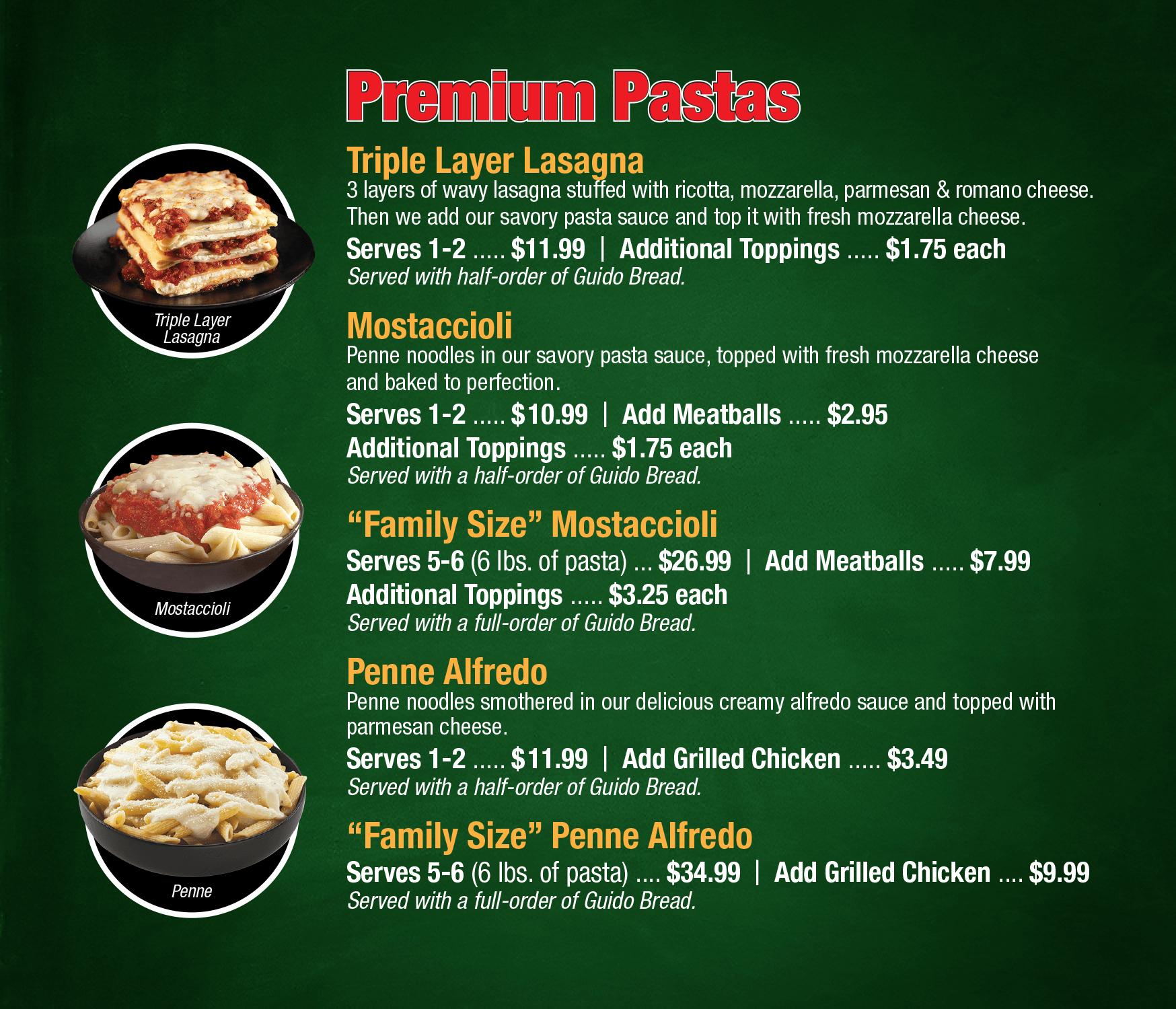 Guido's Premium Pizza Services Metro Detroit And Sault Ste