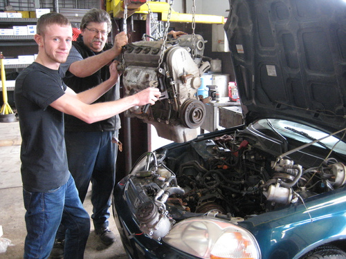 Installing an Engine