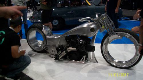 Sema Bike - Jigsaw Auto Repair