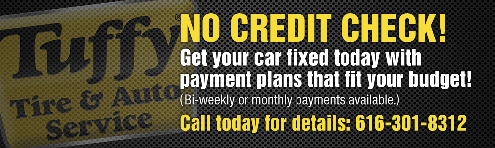 Tuffy No Credit Check Financing
