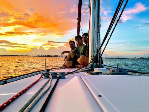 Private sailing charter