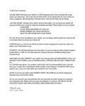 TLC Car Care Coronavirus Letter
