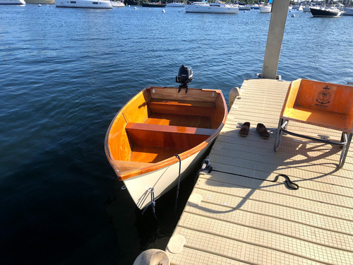 our new dinghy